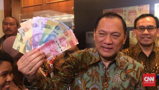 Jokowi Rilis 11 Pecahan Uang Baru Bank Indonesia