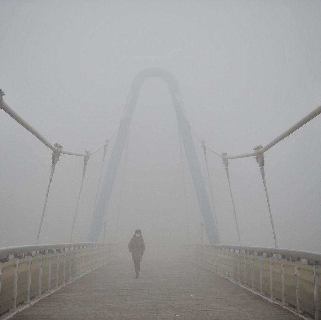 Satu Dari Enam Kematian Berkaitan dengan Polusi Udara