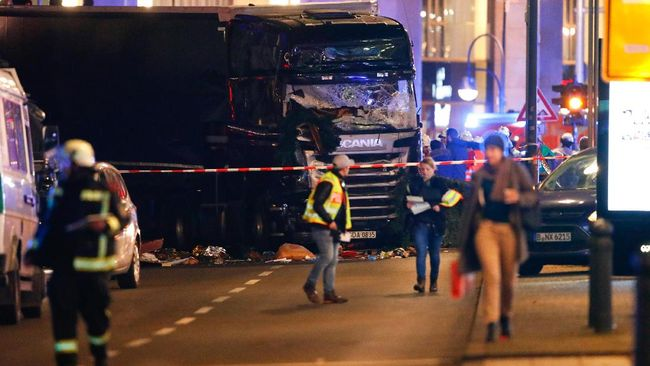 Tak Ada Korban WNI dalam Insiden Truk di Pasar Natal Berlin