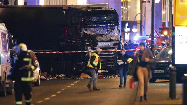 Polisi Temukan Identitas Terduga Serangan Pasar di Berlin