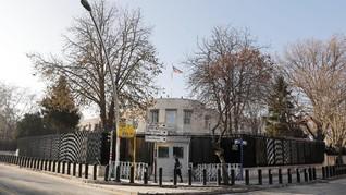 Kedubes AS di Ankara Ditutup Terkait Ancaman Keamanan