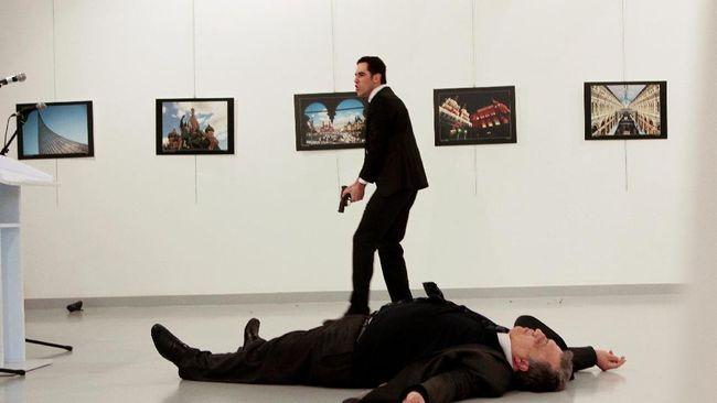 Identitas Pelaku Penembakan Dubes Rusia di Turki Terungkap