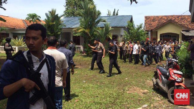 Terduga Teroris di Tangsel Terkait Jaringan Aman Abdurahman