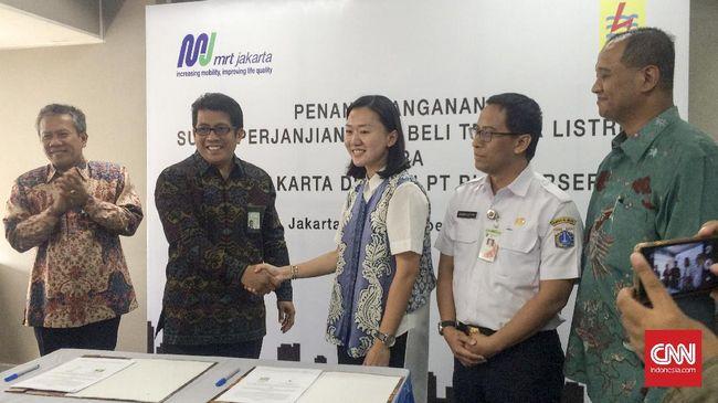 Pasok Listrik ke Proyek MRT, PLN Patok Harga Lebih Mahal