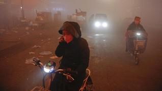 Puluhan Kota di China Dibekap Polusi Udara