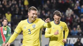 Gol Tunggal Swedia Ancam Peluang Italia ke Piala Dunia