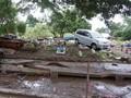 Warga Bima Belum Kembali ke Rumah Meski Banjir Mulai Surut