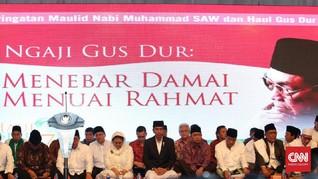 Jokowi Sebut Nilai Antidiskriminasi Gus Dur Harus Diterapkan