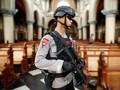 Amankan Malam Natal, Polisi Lakukan Sterilisasi Gereja