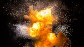 Bom Ikan Meledak di Markas Polsek Giligenting Sumenep