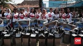 Aksi Gadis Ahok 'Merayu' Warga Jakarta