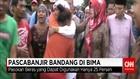 Menteri Khofifah Kunjungi Pengungsian dan Lokasi Banjir