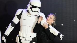 Carrie Fisher Masih Berperan Besar di 'Star Wars: Episode IX'