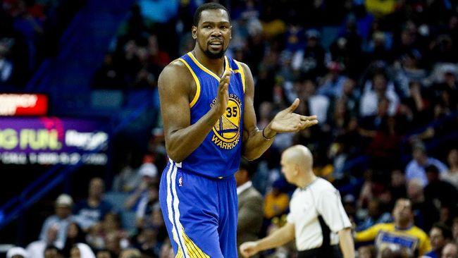 'Lemparan Tiga Angka Durant Buat Cavaliers Panik'