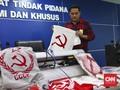 Penjual Kaos Lambang Palu Arit Ditangkap Mabes Polri