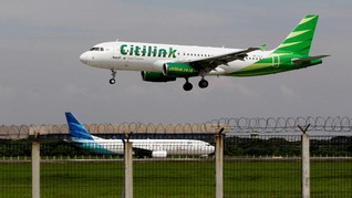 Ekspansi Rute ke China, Citilink Mitigasi Risiko Rugi Kurs