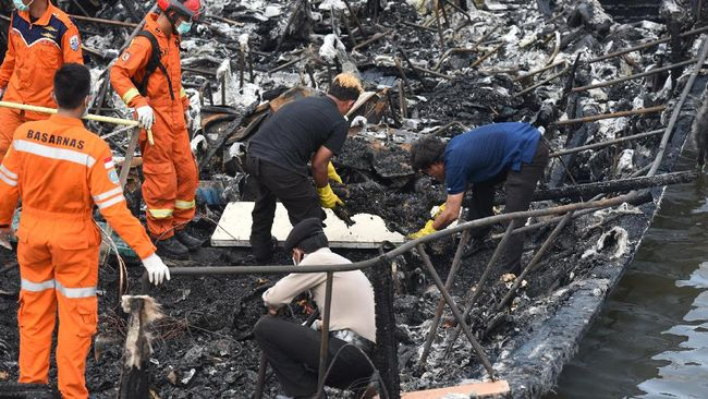 Korban Tewas Terbakarnya Kapal Zahro Express Jadi 23 Orang