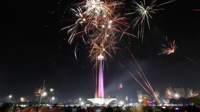 Car Free Night Ramaikan Malam Pergantian Tahun di Jakarta