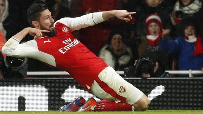 Giroud Yakin Arsenal Segera Perpanjang Kontraknya