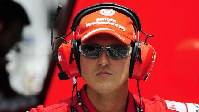 Kado Spesial Ulang Tahun ke-50 Schumacher dari Keluarga