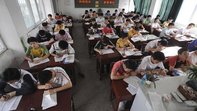Siswa di China Bisa Lulus Ujian dengan Pinjam Nilai di 'Bank'