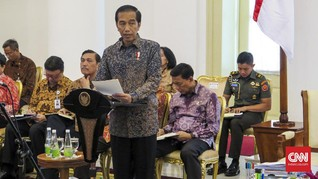Jokowi Perintahkan Semua Menteri Bekerja Kurangi Kesenjangan
