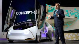 Toyota Benamkan 'Siri' untuk Mobil Otonom Anyarnya