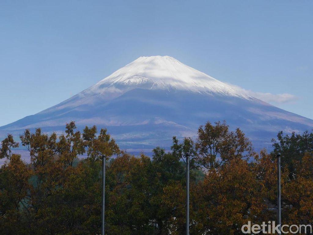 Saat Gunung Fuji Dilanda Macet