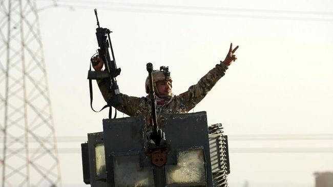 pasukan irak masuki bandara mosul yang dikuasai isis