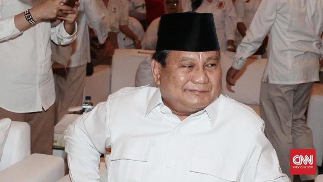 Prabowo Akui Prediksi Indonesia Bubar 2030 Berdasarkan Novel