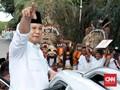 Prabowo Tepis Isu Gerindra Ditawari Jatah Menteri