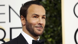 Kejutan Heboh Tom Ford di Panggung 'New York Fashion Week'