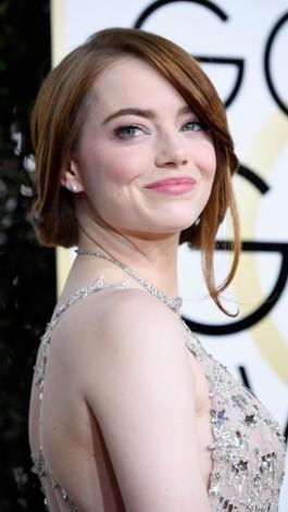 Persiapan Golden Globes, Emma Stone Gunakan Masker Bibir Dari Korea