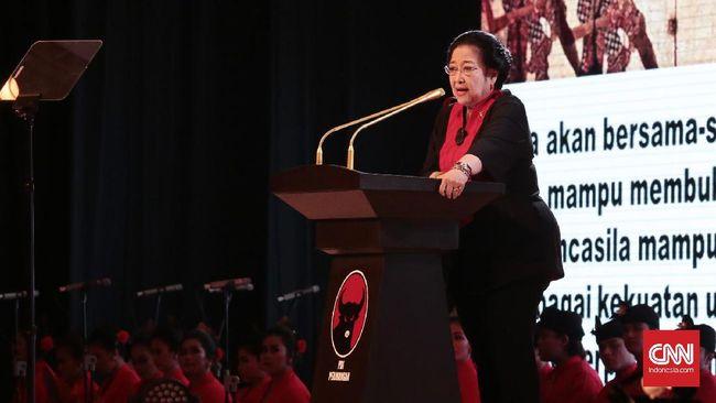 Megawati Curhat Susah Tidur Jika Kader PDIP Terjerat Korupsi