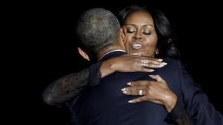 Pesan Rahasia di Balik Lukisan Gaun Michelle Obama