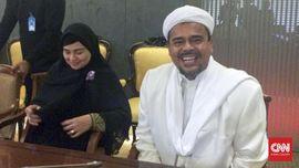 Habib Rizieq ke DPR Temui Fadli Zon