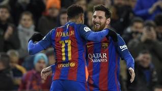 Neymar-Lautaro, Paket yang Bisa Buat Messi Tersenyum