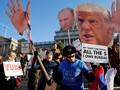 Ratusan Ribu Wanita Hadiri 'Women's March' di AS