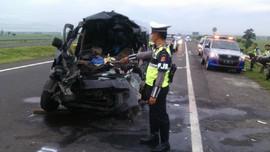 Kecelakaan di Tol Cipali, Enam Orang Meninggal
