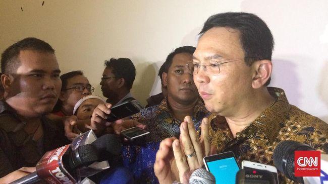 Di Depan NU DKI, Ahok Janji Akan Umrohkan Tiga Ribu Marbot