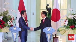Jokowi-Abe Fokus Kerjasama Maritim dan Pertahanan