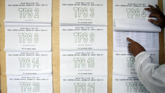 KPU Tetapkan 186 Juta Daftar Pemilih Sementara Pemilu 2019