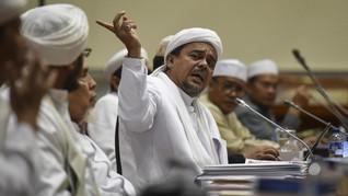 Jejak Kasus Chat Mesum Berujung SP3 untuk Rizieq Shihab