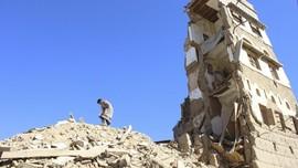 AS Lanjutkan Dukungan Koalisi Pimpinan Arab di Perang Yaman