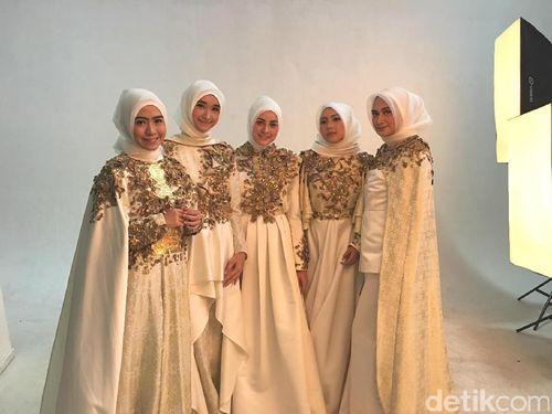 Foto: Pesona 5 Jawara Hijab Hunt Dalam Balutan Busana Dian Pelangi 1