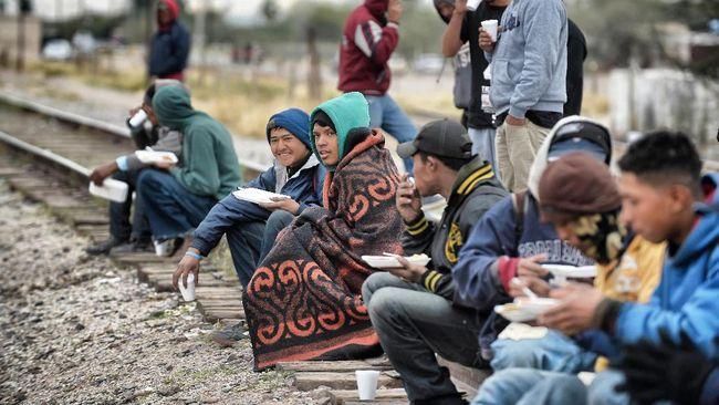 AS Tekan Meksiko, Jumlah Imigran di Perbatasan Turun