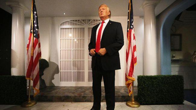 Donald Trump 'Usir' Obama dari Ruang Oval Madame Tussauds