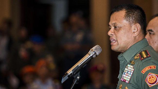 TNI Klaim Jenderal Gatot 'Diserang' 70 Akun Penyebar Hoax