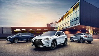 SUV Terbaru Lexus Resmi Mengaspal di Indonesia