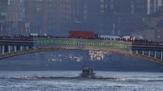 Demo Trump di Inggris: Bangun Jembatan, bukan Tembok